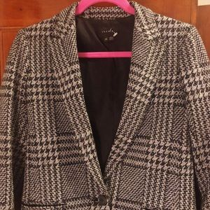 Theory Plaid Jacket